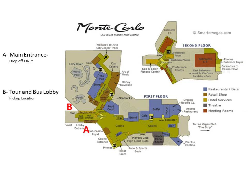map of monte carlo casino las vegas