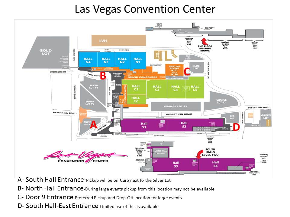 Las Vegas Convention Center Map | World Map 07